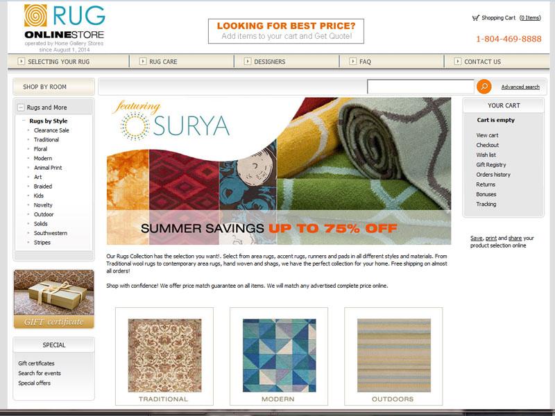 Rug Online Store